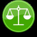 120px-Green-emblem-scales_svg.png