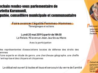 Invitation au Rendez-vous parlementaire du 20 mai 2019 à 18h30 au Relais