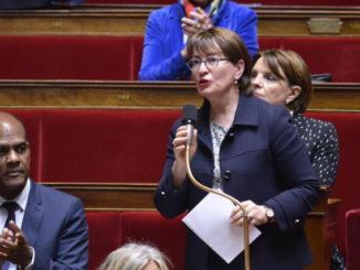 Marietta Karamanli à l'Assemblée Nationale